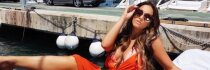 Tobuli modelio Vicky Pattison apvalumai kursto fantaziją