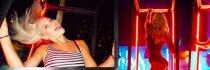 Karštame vakarėlyje – merginų šėlionės ir bučiniai