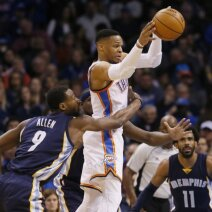 R. Westbrookas sužaidė vienas geriausių karjeros rungtynių