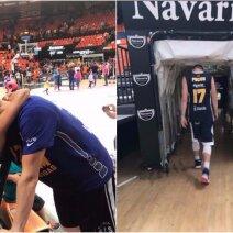 Martyno Pociaus atsisveikinimas su krepšinio aikšte