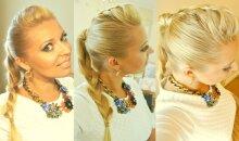 Stilistės Gražinos pamokėlė: šukuosena, kuri vizualiai lieknina VIDEO