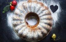 Kalėdoms – varškės pyragas su spanguolėmis