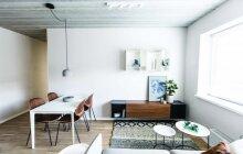 Kompaktiškas 53 kv.m butas Vilniuje: funkcionalūs, bet originalūs sprendimai