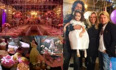 F. Kirkorovas keturmetei dukrai surengė įspūdingą ir prašmatnią gimtadienio puotą