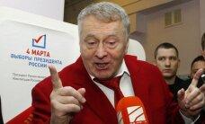 V.Žirinovskis kritikavo balsavimo kabinas