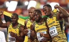 Jamaikos bėgikai vėl triumfavo pasaulio čempionato estafečių bėgimuose