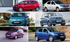 Pigiausi nauji automobiliai Lietuvoje