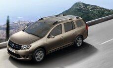 """Naujasis """"Dacia Logan MCV"""" išriedėjo į Lietuvos kelius"""