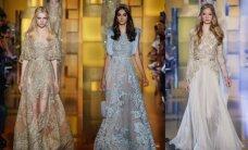 Nuostabios ELIE SAAB vakarinės suknios atima žadą
