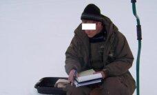 Aplinkosaugininkai patikrino, ar eidami ant ledo žvejai nieko nepamiršo