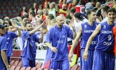 Čekijos krepšininkas: žaidžiau prieš A. Sabonį, dabar bus keista kovoti su jo sunūmi