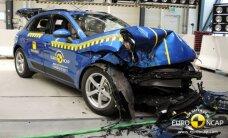 """""""Euro NCAP"""" pirmą kartą patikrino """"Porsche"""" saugumą"""