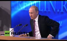 V. Putinas pasakoja, kaip gelbėsis