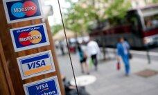 """""""Visa"""" ir """"MasterCard"""" smogė Rusijos bankams"""