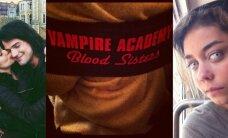 """Kraujas liejasi laisvai: filmas """"Vampyrų akademija"""" - jau nufilmuotas! (PAMATYK """"GYVĄ"""" PLAKATĄ)"""