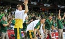 Lietuva tapo geriausia grupėje Rygoje po pergalės prieš Čekiją po pratęsimo