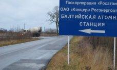 Rusijai įteikta nota dėl atominės elektrinės Kaliningrade