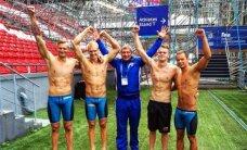Lietuvos plaukikų kvartetas galynėsis su favoritais Europos čempionato finale