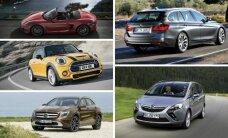Vokiečių prognozės, kurie automobiliai nuvertės mažiausiai