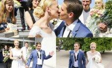 Dainininkė Mia ištekėjo už savo išrinktojo N. Antanavičiaus