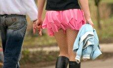 Kokias ligas slepia trumpas sijonėlis?