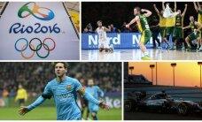 10 pasaulinių sporto įvykių, kurių negali praleisti 2016-aisiais
