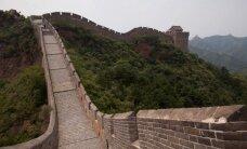 Liūtys sugriovė dalį Didžiosios kinų sienos