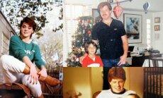 Meghan Markle pusseserė bei du pusbroliai su ja dar vaikystėje