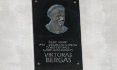 Memorialinės lentos gamtosaugininkui Viktorui Bergui atidengimas