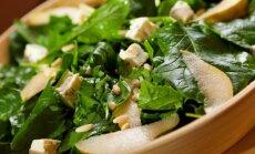 Špinatų salotos tikriems gurmanams