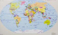 Pasaulio politinis žemėlapis
