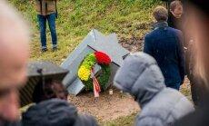 Kaune atidengtas ženklas Holokausto aukoms atminti