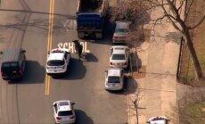 Niujorko gatvėse policija gaudė pabėgusį bulių