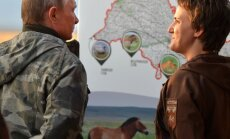 Vladimiras Putinas apsilankė valstybiniame Orenburgo draustinyje