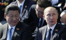 Xi Jinping and Vladimir Putin