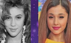 Alyssa Milano ir Ariana Grande