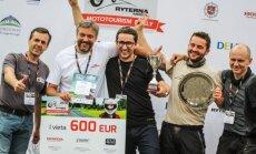 Mototurizmo ralio nugalėtojai