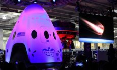 Bendrovės SpaceX kapsulė Dragon