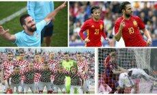 Arda Turanas, Cescas Fabregasas, Kroatijos rinktinė, Čekijos futbolininkai (AFP, SIPA-Press-Scanpix nuotr.)