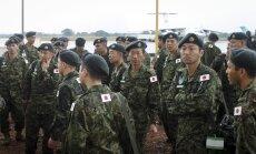 Japonijos kariai išsilaipino Pietų Sudane