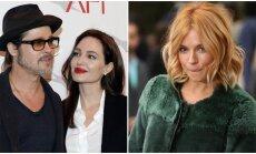 B. Pittas ir vėl turi nemalonumų: A. Jolie įtaria jo romaną su S. Miller