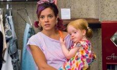 Lily Allen su dukra Ethel