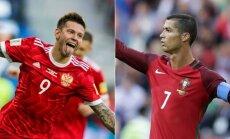 Fiodoras Smolovas ir Cristiano Ronaldo