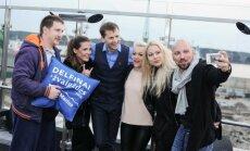 Projekto Delfinai ir žvaigždės komandos linksmybės