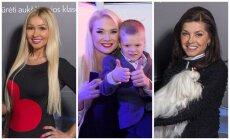 Diana Martinėlė, Natalija Bunkė su sūnumi Kristupu, Kristina Kaikarienė