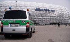 Policija prie Miuncheno Allianz Arena stadiono
