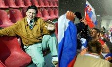 Vytautas Dirmeikis organizavo draugiškas Lietuvos rinktinės rungtynes su slovakais dar tuomet, kai oficialiai nebuvo Slovakijos