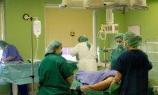 Medics at the Santariškės Clinic