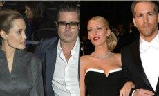 Angelina Jolie, Bradas Pittas ir Ryanas Reynoldsas, Blake Lively