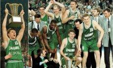 Žalgiris – 1999 metų Eurolygos čempionas (FIBA ir Euroleague.net nuotr.)